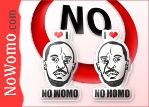 NoWomo.com - No Homo via net.